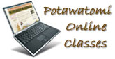 Potawatomi Online Course Button
